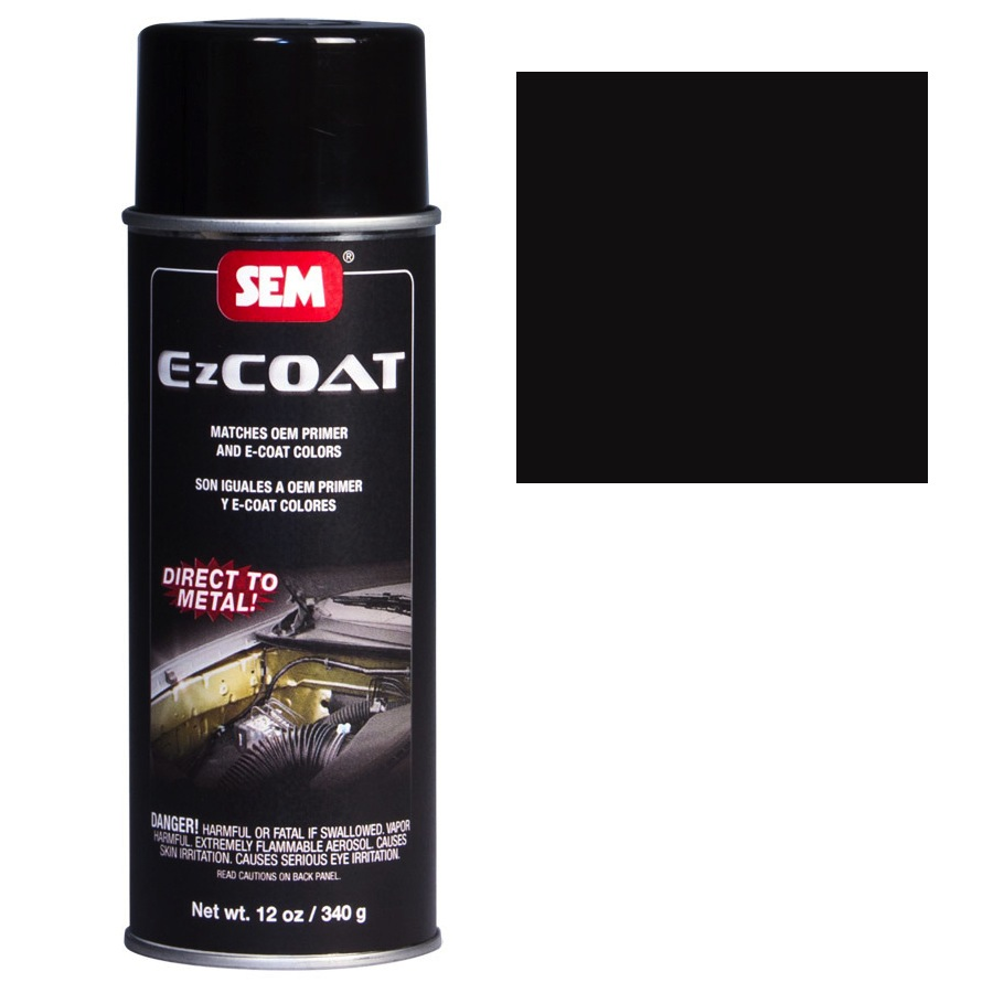 SEM EZ COAT - BLACK 16 OZ AEROSOL