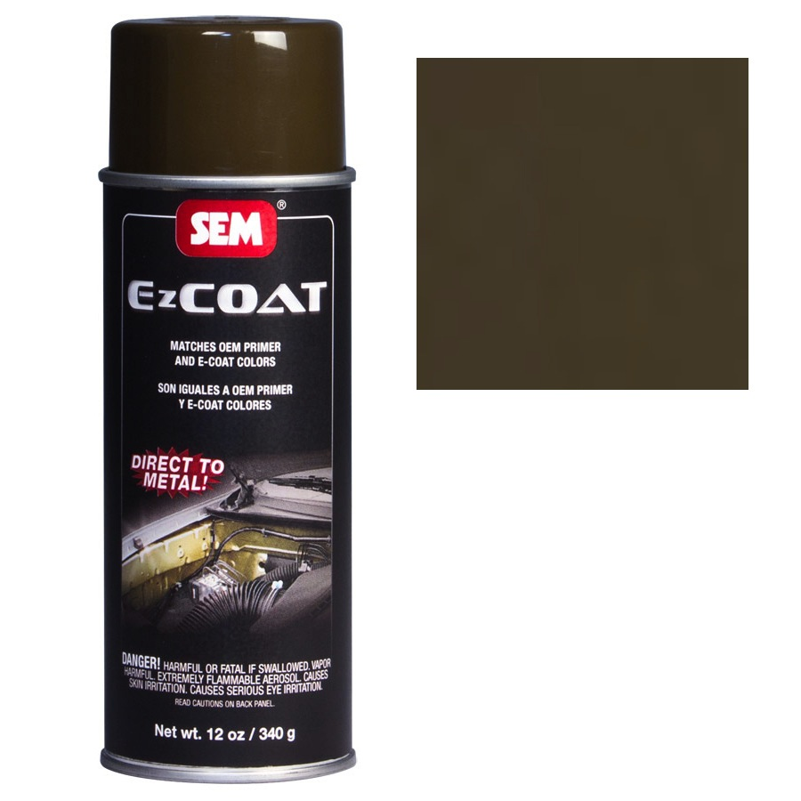 SEM EZ COAT - OLIVE BROWN 16 OZ AEROSOL