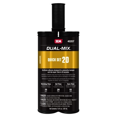 SEM DUAL-MIX QUICK SET 20 7 OZ CARTRIDGE