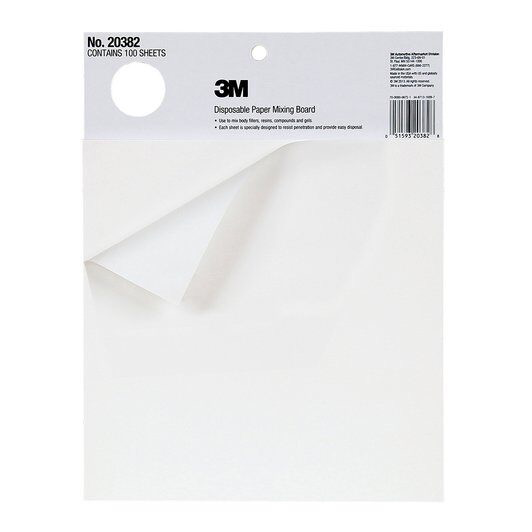 3M Disposable Paper Mixing Board