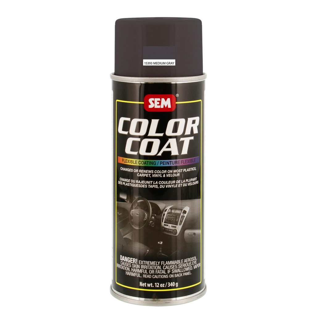SEM COLOR COAT - MED GRAY 16 OZ AEROSOL
