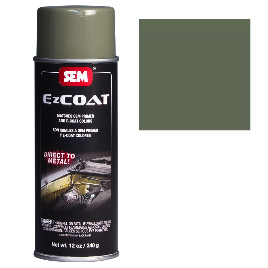 SEM EZ COAT - OLIVE GREEN 16 OZ AEROSOL