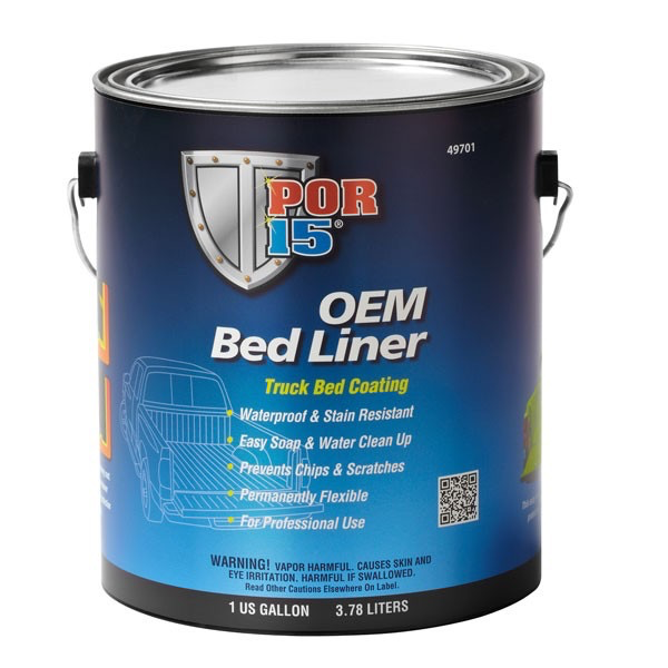 POR15 OEM Bed Liner Black Gallon