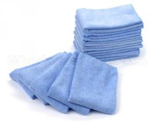 Microfibre Towel Blue 10 per package 14x14