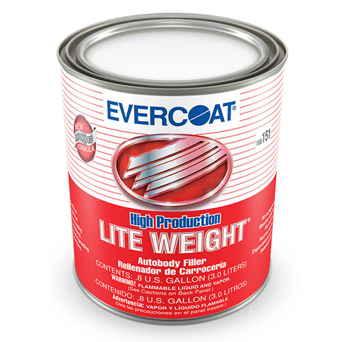 High Production Lite Weight, Gallon Auto Body Toolmart Evercoat High Production Lite Weight Plastic Body Filler