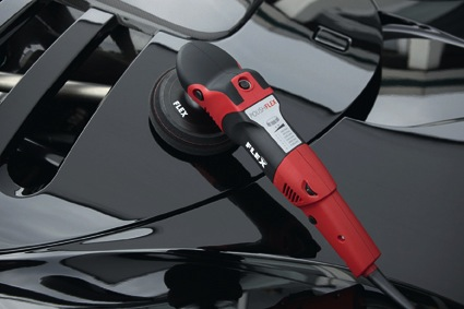 POLISHFLEX, variable-speed polisher with a high torque