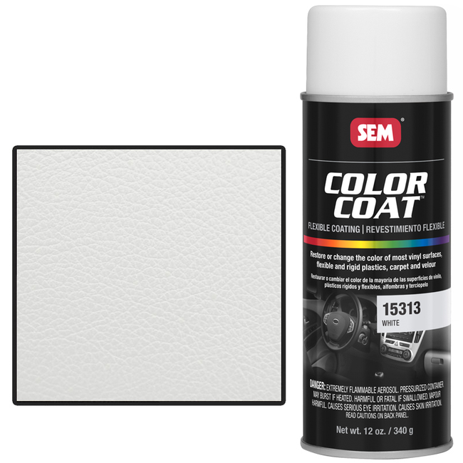 SEM COLOR COAT - WHITE 16 OZ AEROSOL