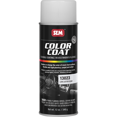SEM COLOR COAT™ - LOW LUSTER CLEAR 16 OZ AEROSOL
