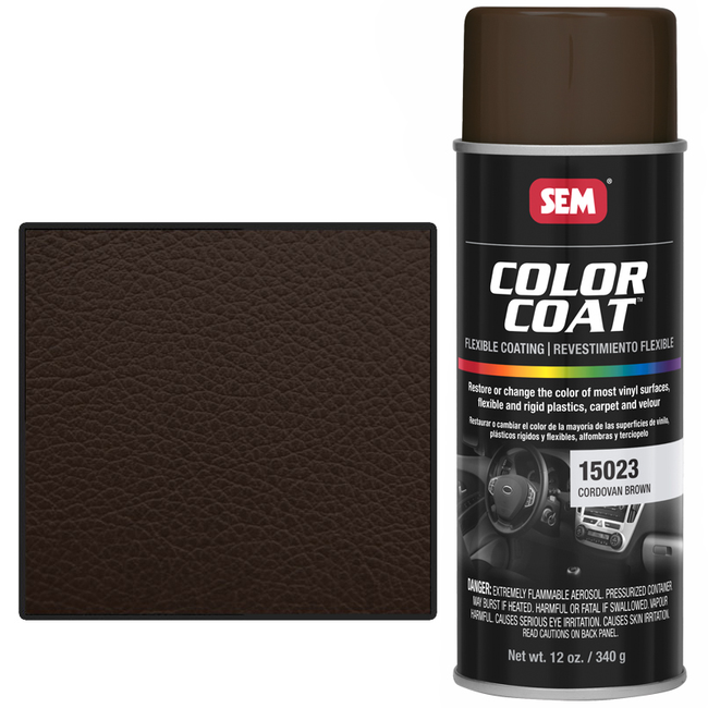 SEM COLOR COAT - CORDOVAN BROWN 16 OZ AEROSOL