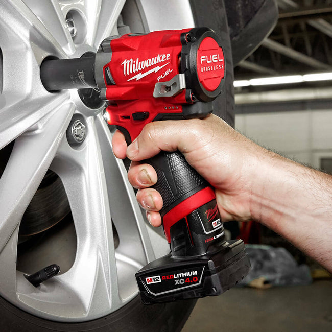 "Milwaukee M12 FUEL 1/2"" IMP WRENCH BARE"