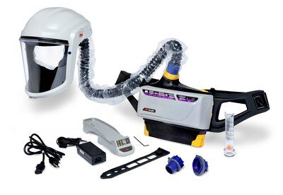 3M™ Versaflo™ Powered Air Purifying Respirator Assembly Painters Kit, TR-800-PSK, 1/case