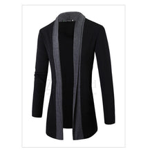 Load image into Gallery viewer, Men coat wool long sleeve slim Lapel collar england fashion style men