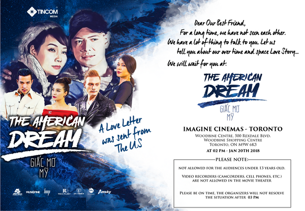 The American Dream - Giấc Mơ Mỹ (Movie Ticket)