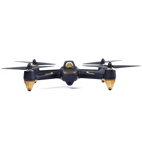HUBSAN H501S X4 Drone 4 Channel GPS Altitude Mode 5.8GHz Transmitter 6 Axis Gyro 1080P FPV Brushless Quadcopter Mode 2 RTF ( Black)