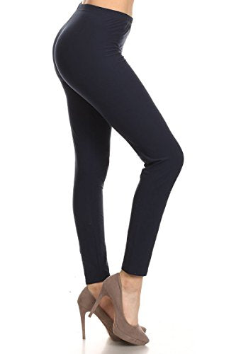 Leggings Depot Buttery Soft Basic Solid 45 COLORS Best Seller Leggings Pants Carry 1000+ Print Designs