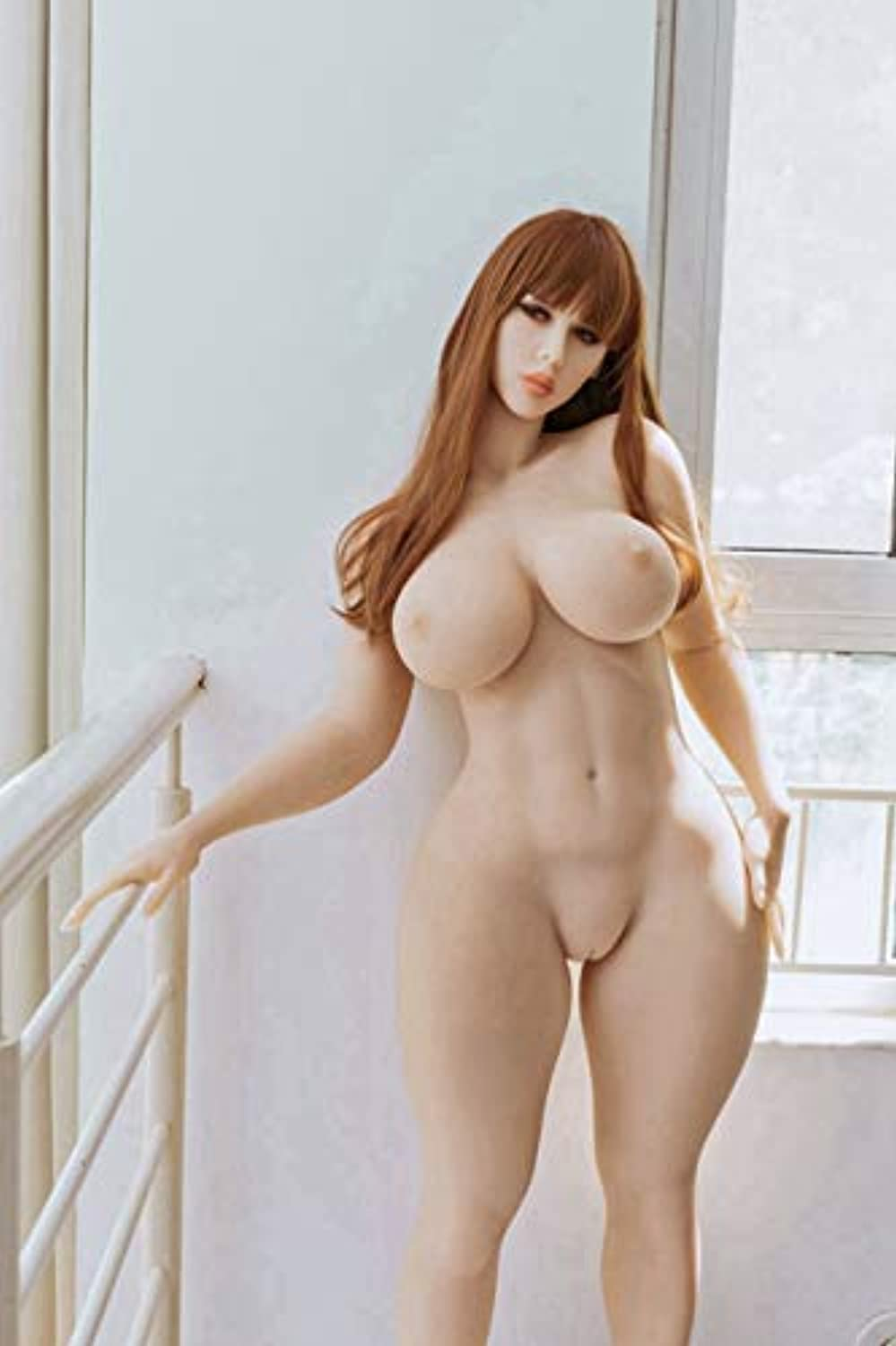 163cm/5.34ft Waterproof Lifelike Full Size 3D Realistic Real S'ëx Life Love Do-ll Silicone TPE Solid Toys Doles Adûllt Torso Mästürbatõr 3 Openings Dóllls for Men Male TFFB002