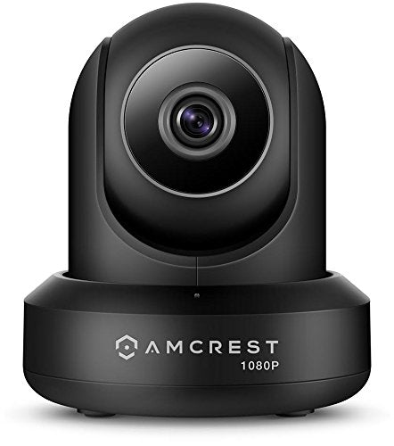 Amcrest ProHD 1080P WiFi Wireless IP Security Camera - 1080P (1920TVL), IP2M-841 (Black)