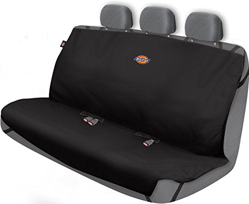 Dickies 3000721 Black Heavy Duty Rear Bench Seat Protector