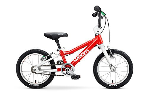 "Woom 3 Pedal Bike 16"", Ages 4 to 6 Years, green"