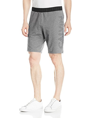 Calvin Klein mens Mixed Media Terry Logo Short
