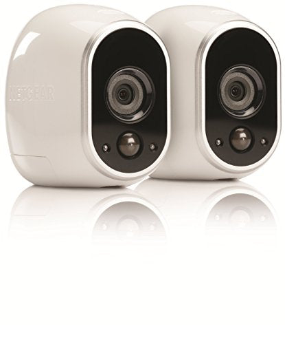 NETGEAR Arlo Smart Security System – 2 HD Wire-Free Camera, Indoor/Outdoor with Night Vision (VMS3230)