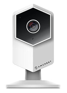 Amcrest ProHD Shield Wireless IP Security Camera, 960P 1.3 Megapixel(1280960P), Two-Way Audio, Super Wide 140° Viewing Angle, MicroSD & Cloud Recording, Digital Zoom, Night Vision, IPM-HX1W (White)