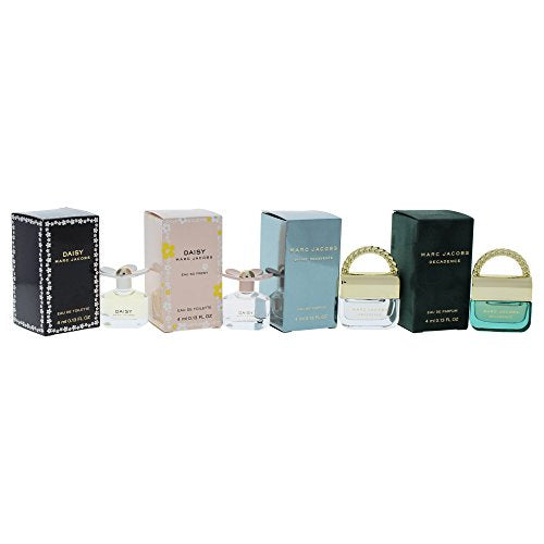 Marc Jacobs Variety Perfume Kit for Women, 4 Count, 9.6 Oz
