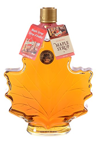 Turkey Hill 500mL Maple Leaf Glass Bottle Grade A Maple Syrup