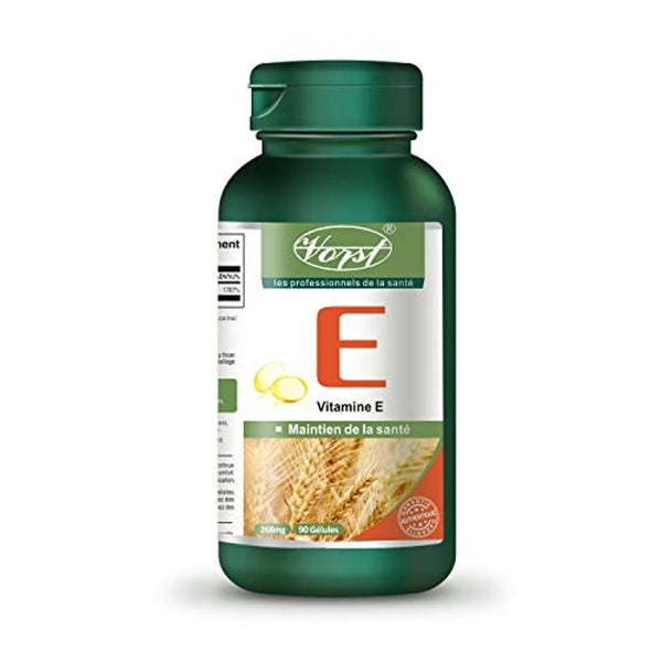 Vorst Vitamin E Oil 400 IU 90 Softgels (1 Bottle)