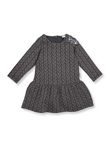 Le Top Think Pink Baby Girl Long Sleeve Dress -9M