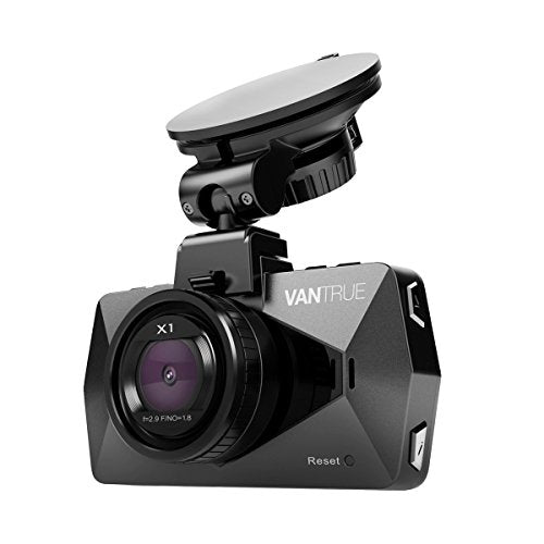 1080p Dash Cam, Vantrue X1 Dash Camera for Cars with Full HD 1080P 170° Wide Angle 2.7