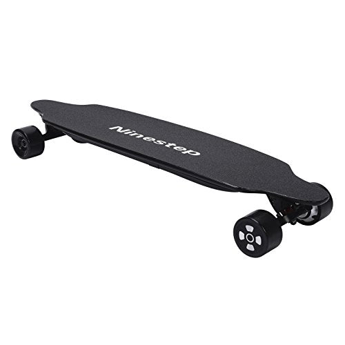 Ninestep 37 inch dual motor electric skateboard 1000w electric longboard with remote and LG 8.8 Ah battery