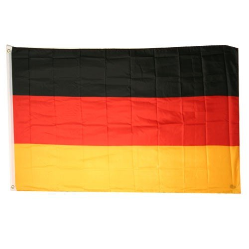Germany National Flag (3' x 5', 100% Polyester)