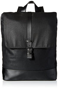 Calvin Klein Men's Coated Canvas Backpack, Black, One Size