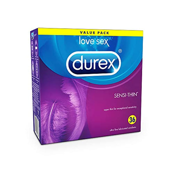 Durex Sensi Thin Lubricated Condoms