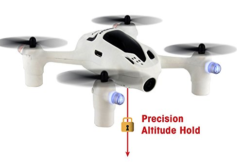 Hubsan FPV X4 Plus H107D+ 2.4Ghz 6-Axis Gyro RC Headless Quadcopter with 720P Camera RTF and Altitude Hold Function