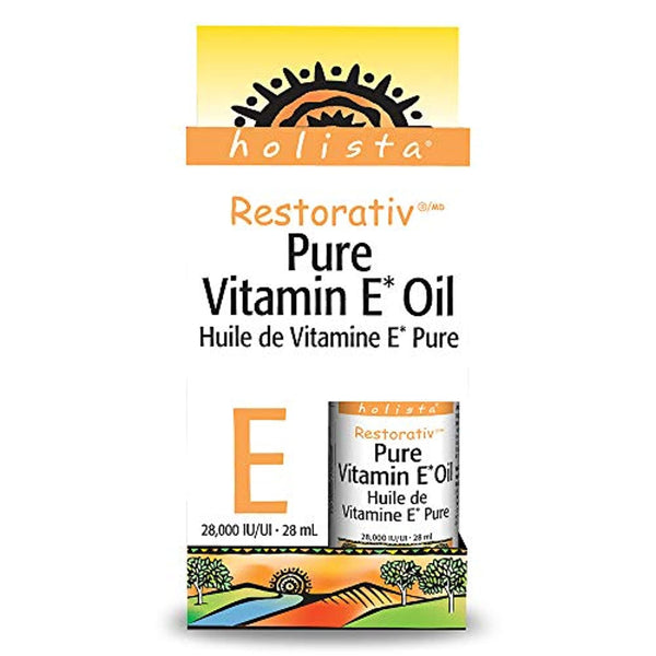 Holista Restorativ Vitamin E Oil, Pure, 28, 000 Iu.95-Ounce