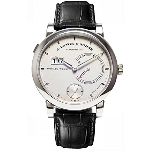 A. Lange and Sohne Men's 45.9mm Black Platinum Case Mechanical Watch 130.025F