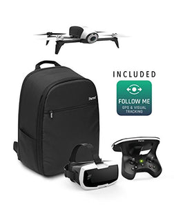 Parrot Bebop 2 Power FPV Pack - Film like a Pro with Smart Flights and up to 60 minutes of combined of flight time