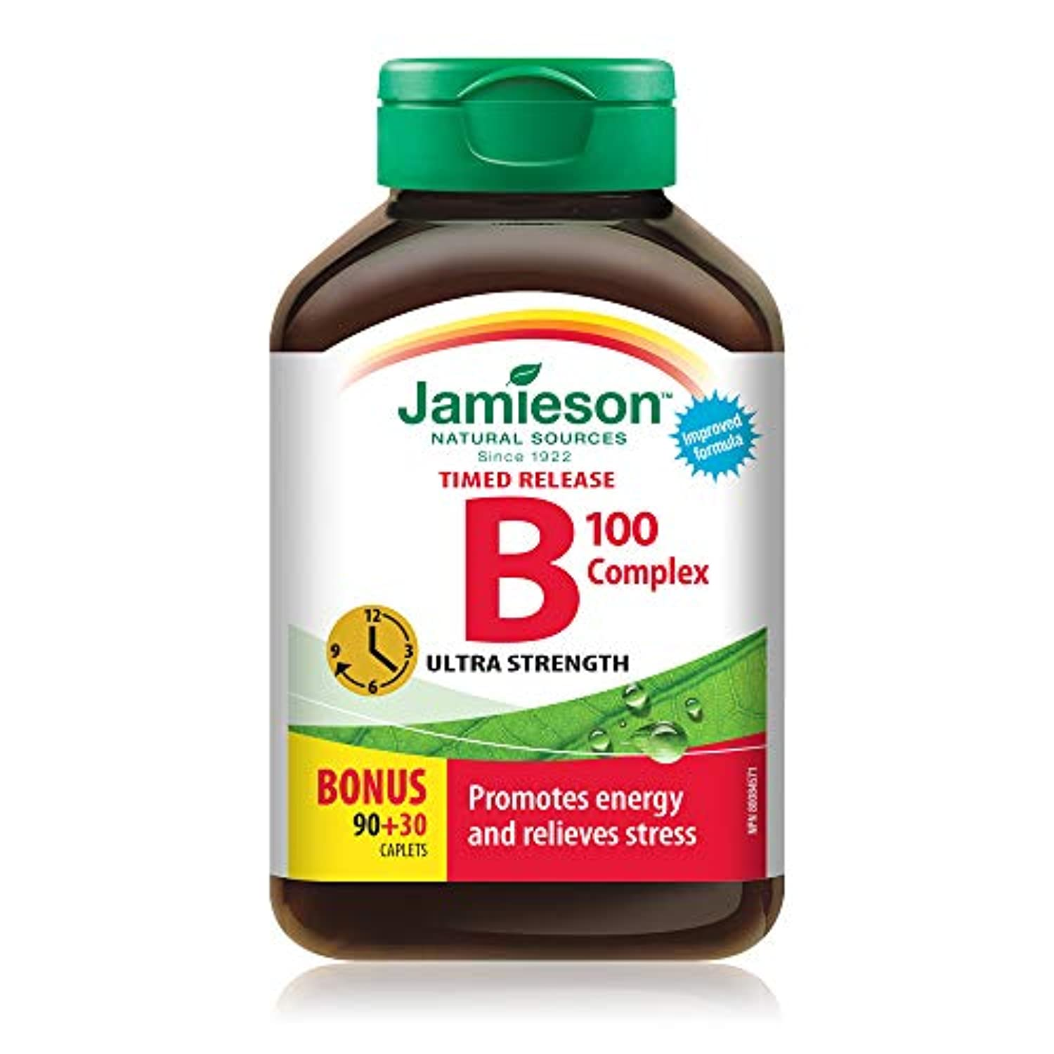 Jamieson B Complex 100 Ultra Strength Timed Release