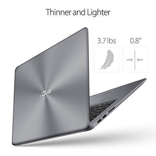ASUS VivoBook F510UA Thin and Lightweight FHD WideView Laptop, 8GB DDR4 RAM, 128GB SSD+1TB HDD Fingerprint Reader,