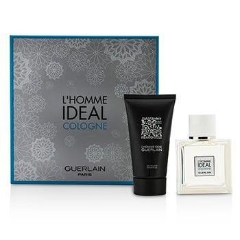 Guerlain L'Homme Ideal Cologne Coffret: EDT Spray 50ml/1.6oz + Shower Gel 75ml/2.5oz 2pcs