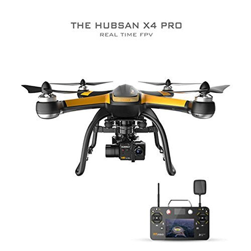 HUBSAN H109S X4 Pro Drone 5.8GHz FPV With 1080P HD Camera 6 Axis Gyro and 3 Axis Gimbal Rotation GPS RC Quadcopter High Edition