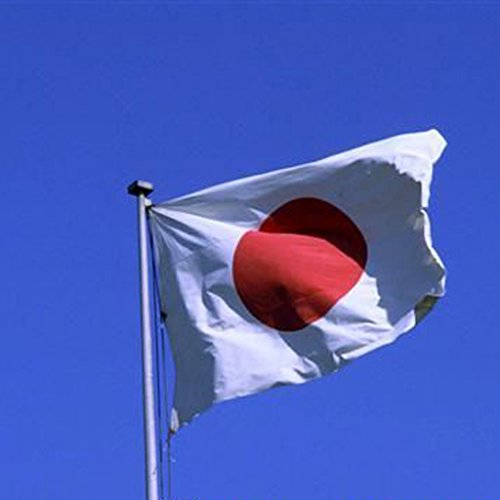 Japan National Flag 5ft x 3 ft
