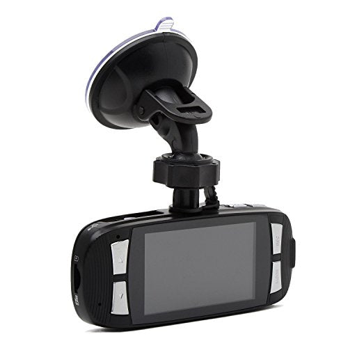 "Blackbox G1W Original Dashboard Dash Cam - Full HD 1080P H.264 2.7"" LCD Car DVR Camera Video Recorder with G-Sensor Night Vision Motion Detection WDR 140 Degree  Wide Angle 4X Zoom - NT96650 + AR0330"