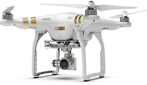 DJI CP.PT.000181 Phantom 3 Professional Quadcopter Drone with 4K UHD Video Camera, White