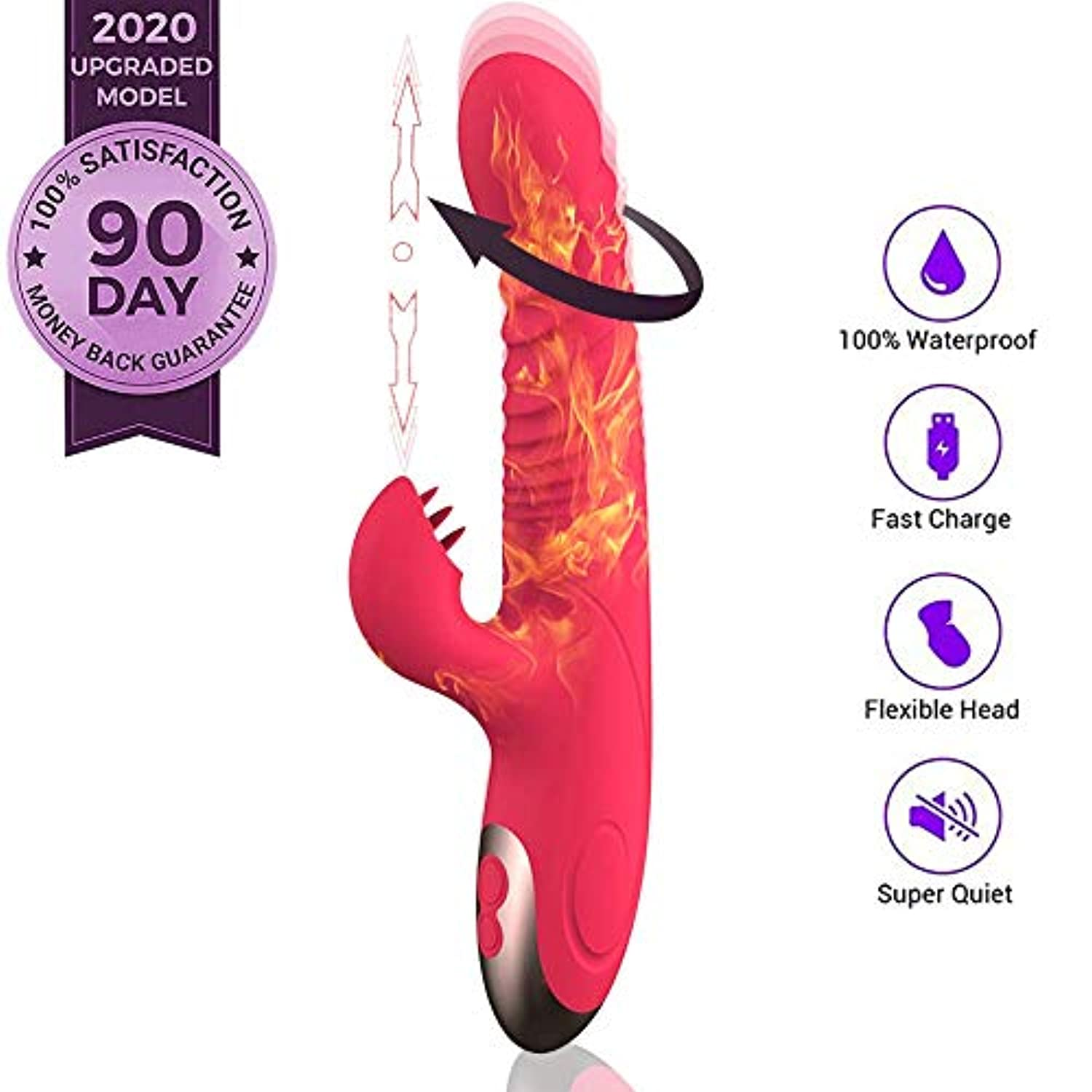 2020 New 3 IN 1 Sexy Toyswomen Ðidó Dual Motor Adullt Toys for Womee 10speed Physical Therapy Point Exercise Relaxation Massage USB Cable Waterproof