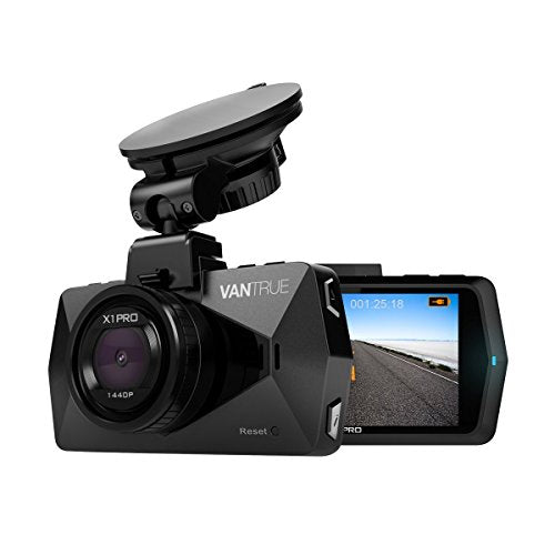 2.5K Car Dash Cam - Vantrue X1 Pro Dash Cameras for Cars with 1440P/30 fps or 1080P/60 fps, 2.7