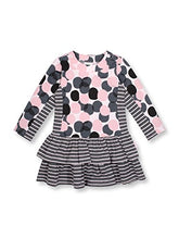 Load image into Gallery viewer, Le Top Think Pink Baby Girl Long Sleeve Dress -9M