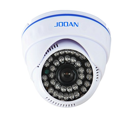Security Camera, JOOAN 24pcs IR-LEDs Dome Camera 700tvl CCTV Security Camera for Home Surveillance System Video Monitor Indoor Camera with 3.6mm Lens OSD Function